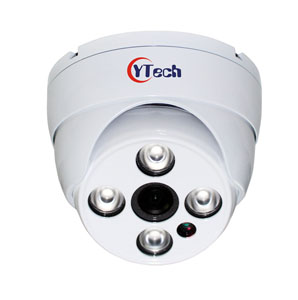 40M IR 2.0M Pixel HD-AHD Waterproof Outdoor Dome CCTV Camera