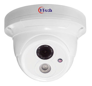 30M IR 1.0M Pixel HD-AHD Waterproof Outdoor Dome CCTV Camera