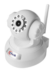 15M IR 2.0M Pixel HD wireless Wifi Intdoor Robot IP Camera