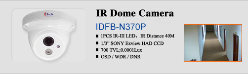 40M Array LED IR WaterProof Dome Camera